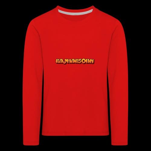 KajmakSohn - Kinder Premium Langarmshirt