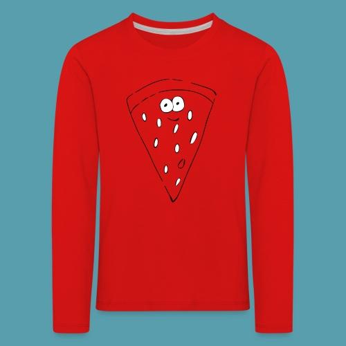 vesimelooni - Lasten premium pitkähihainen t-paita