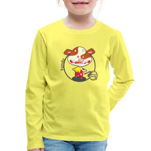 FF FADE 01 - Kinder Premium Langarmshirt