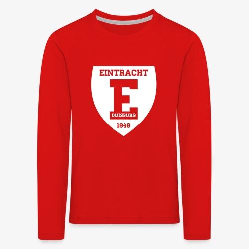 Retro Logo 2 - Kinder Premium Langarmshirt