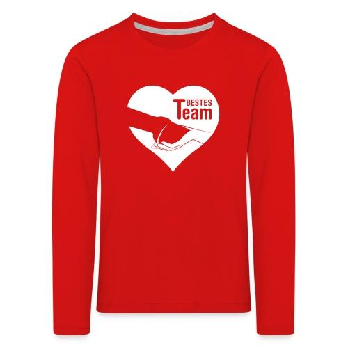 Vorschau: Bestes Team - Kinder Premium Langarmshirt