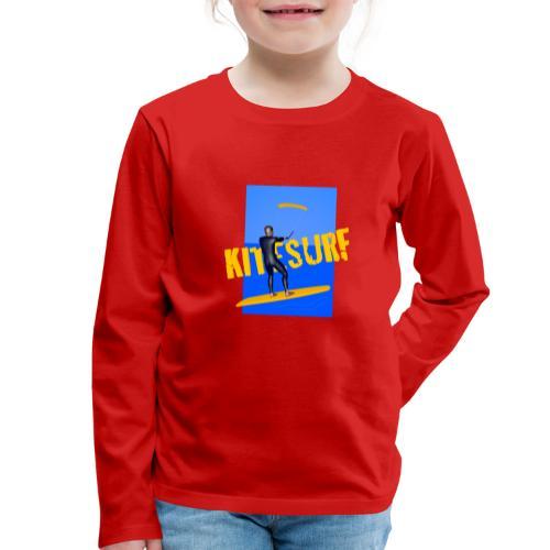 KITESURF HOMME - T-shirt manches longues Premium Enfant