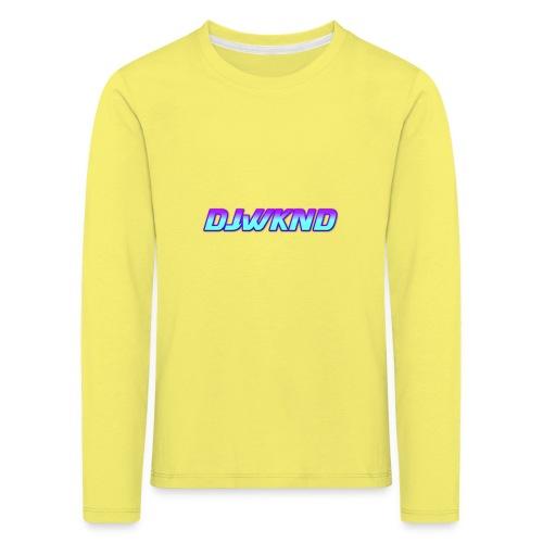 djwknd - Lasten premium pitkähihainen t-paita