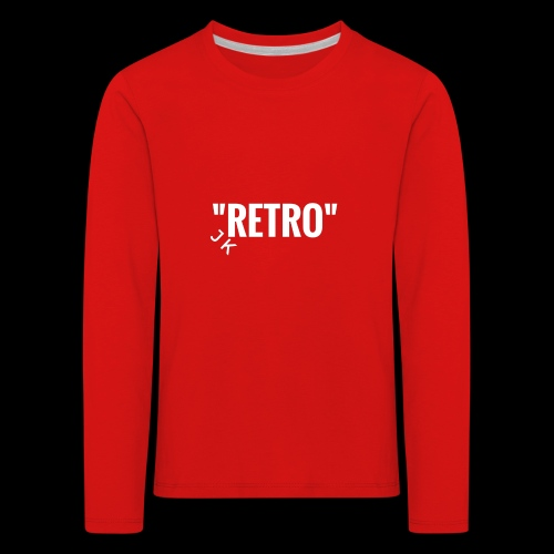 retro - Kids' Premium Longsleeve Shirt