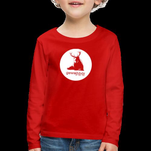 geweihbär - Kinder Premium Langarmshirt