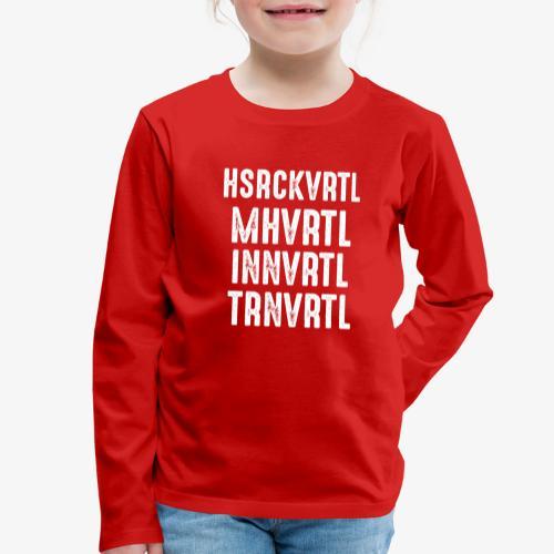 Viertel von Oberösterreich - Kinder Premium Langarmshirt