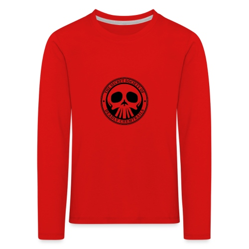 DEADLY CHEMTRAILS - Koszulka dziecięca Premium z długim rękawem