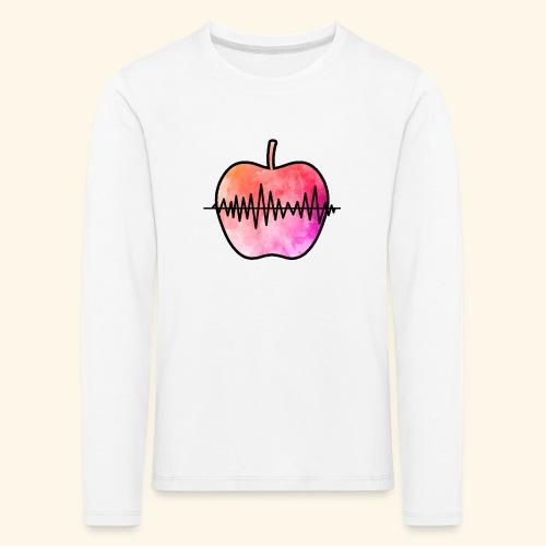 AppleJazzDK Logo - Børne premium T-shirt med lange ærmer