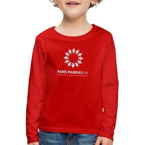 PANS PANDAS MULTI LOGO - Kids' Premium Longsleeve Shirt