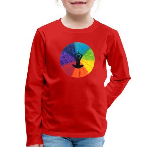 Kraftbild die Mitte - Kinder Premium Langarmshirt