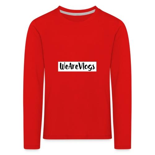 WeAreVlogs - Kids' Premium Longsleeve Shirt