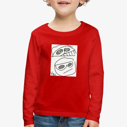 Manolito - Maglietta Premium a manica lunga per bambini