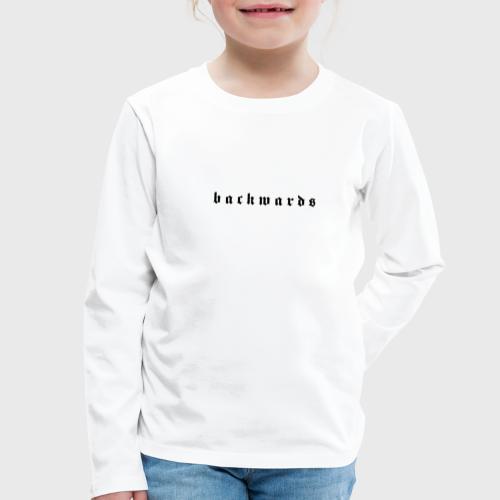 Backwards - Kinderen Premium shirt met lange mouwen