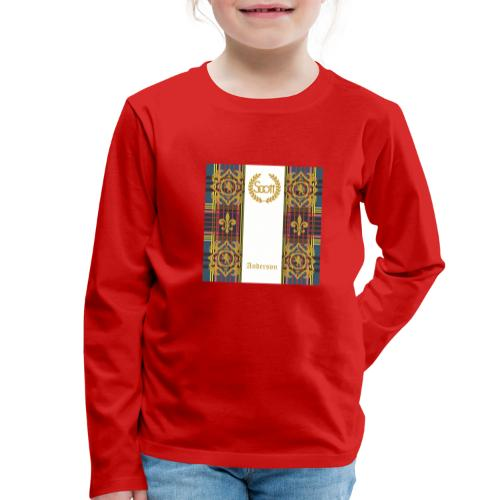 anderson clan - Kinder Premium Langarmshirt