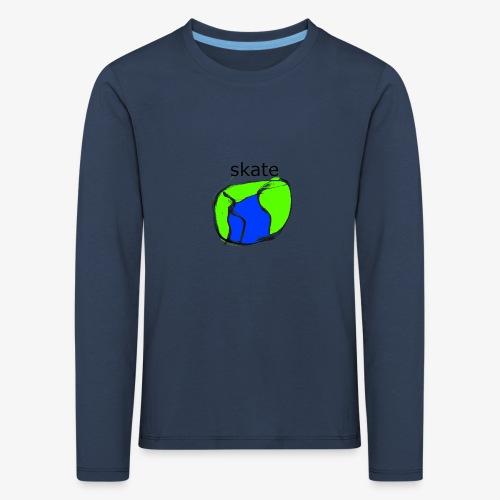aiga cashier - Børne premium T-shirt med lange ærmer