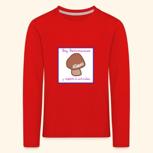 Soy Setamaniaco - Camiseta de manga larga premium niño