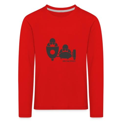 BASSET LOGO - T-shirt manches longues Premium Enfant