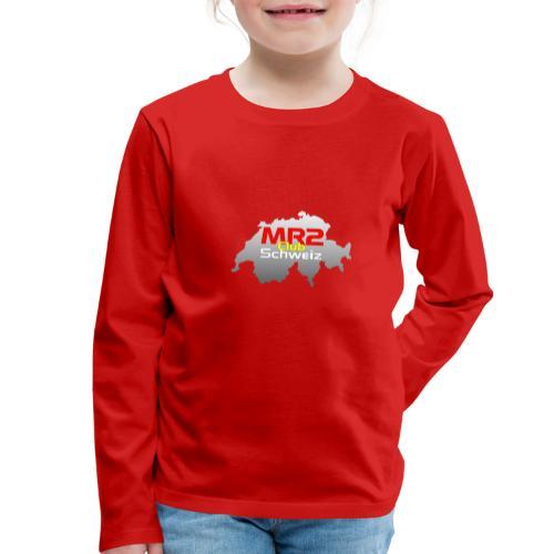 Logo MR2 Club Logo - Kinder Premium Langarmshirt