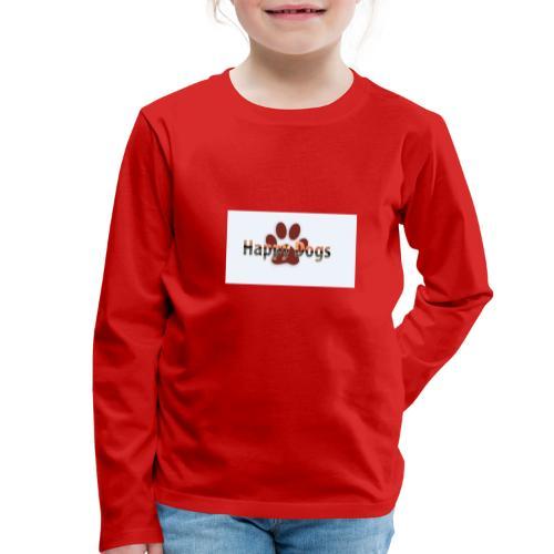 Happy dogs - Kinder Premium Langarmshirt