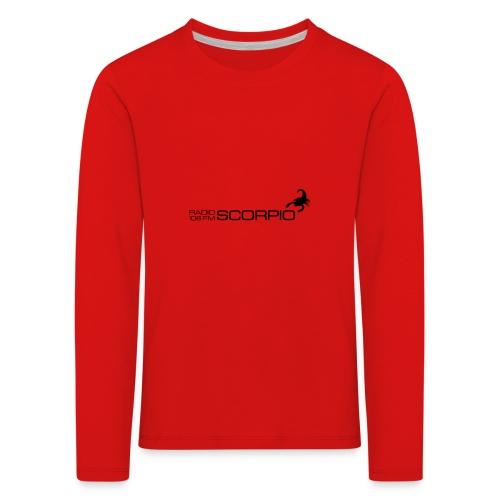 scorpio logo - Kinderen Premium shirt met lange mouwen