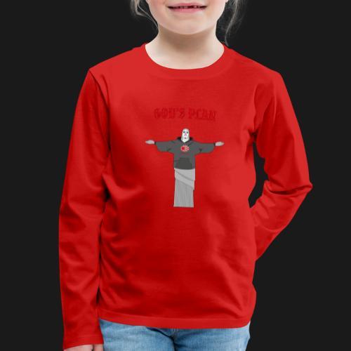 God's Plan - T-shirt manches longues Premium Enfant