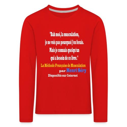 LMF Sante 2 v2 - T-shirt manches longues Premium Enfant