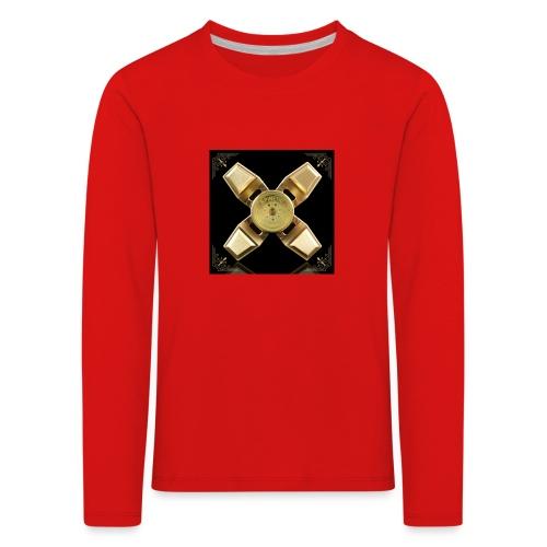 Spinneri paita - Lasten premium pitkähihainen t-paita