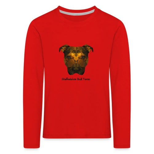 Staffordshire Bull Terrier - Kids' Premium Longsleeve Shirt