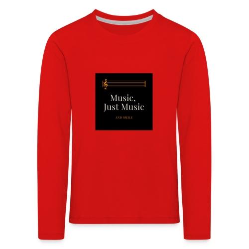 music - T-shirt manches longues Premium Enfant