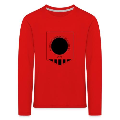 Tujen vaakunalogo - Lasten premium pitkähihainen t-paita