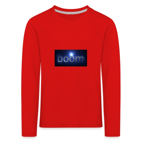 BOOOM - Koszulka dziecięca Premium z długim rękawem