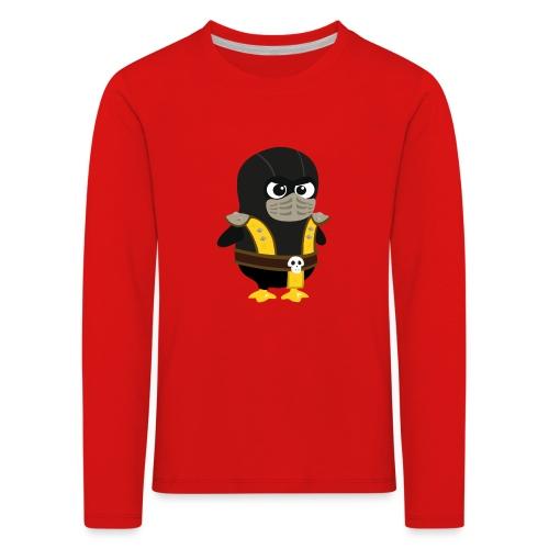 Pingouin Mortal Scorpion - T-shirt manches longues Premium Enfant