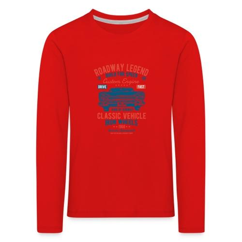 Roadway Legend - Kinderen Premium shirt met lange mouwen