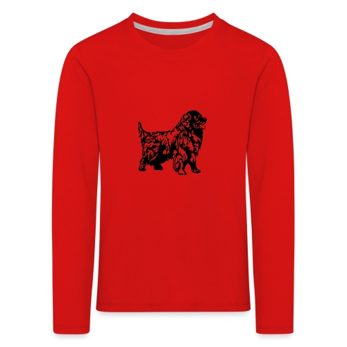 Neufundländer - Kinder Premium Langarmshirt