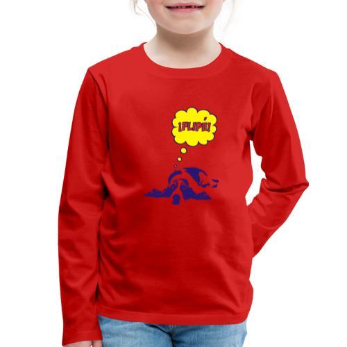 fiple - Camiseta de manga larga premium niño