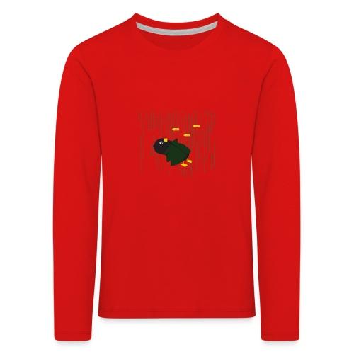 Pingouin Bullet Time - T-shirt manches longues Premium Enfant
