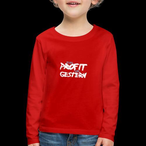 profit - Kinder Premium Langarmshirt
