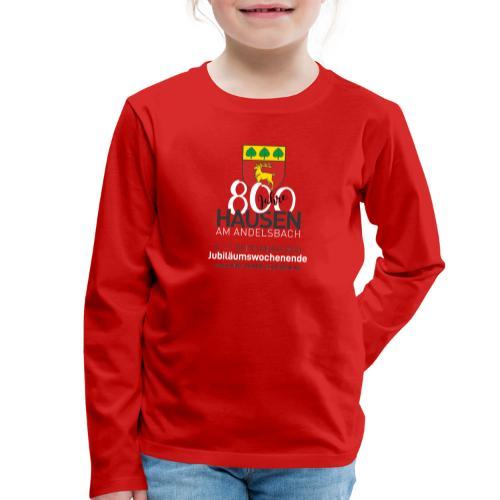 Jubiläum ROT - Kinder Premium Langarmshirt