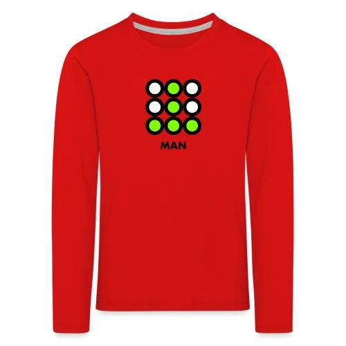 Man - Maglietta Premium a manica lunga per bambini