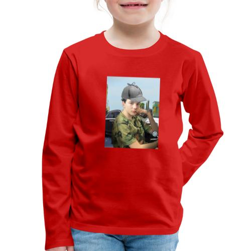 Detektiv Laurin - Kinder Premium Langarmshirt