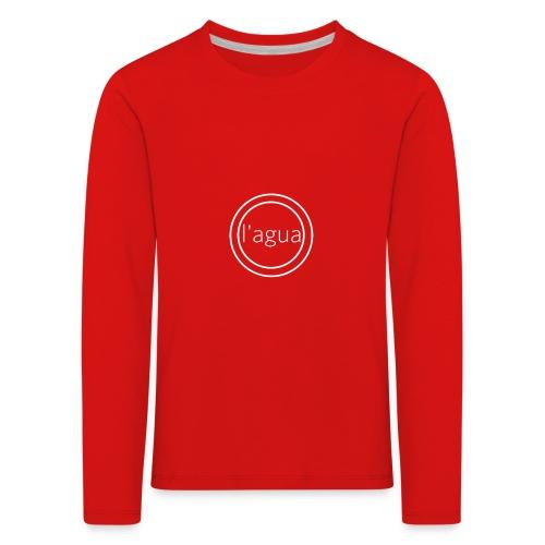 l agua white - Kids' Premium Longsleeve Shirt