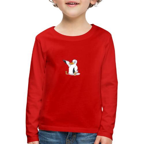 Möwi - Kinder Premium Langarmshirt