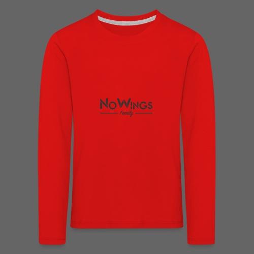 NoWings_Fam - Kinder Premium Langarmshirt