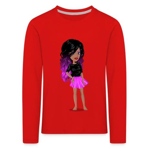 MSP_Min_kj - Premium langermet T-skjorte for barn
