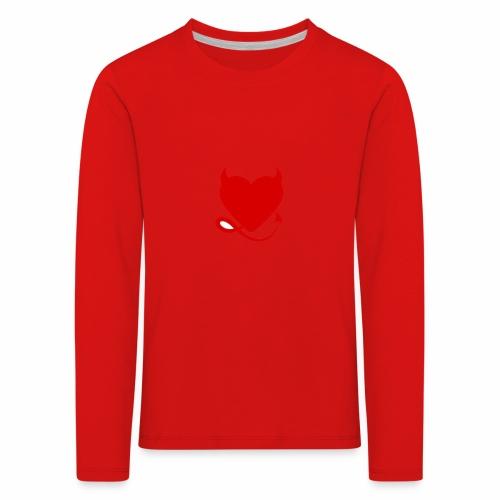 diablita - Camiseta de manga larga premium niño