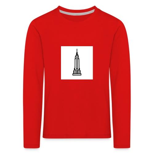 Empire State Building - T-shirt manches longues Premium Enfant
