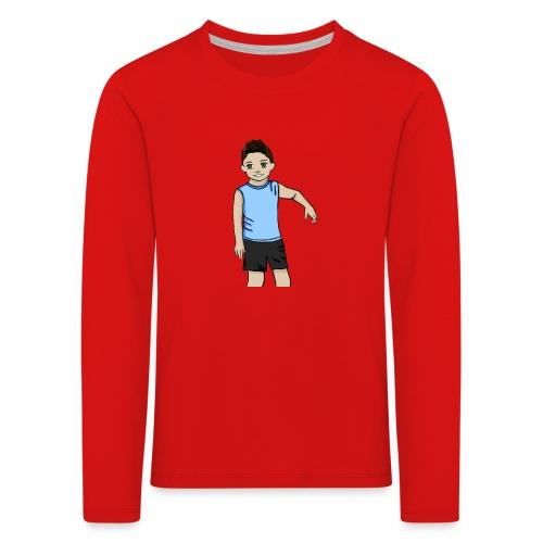 OfirGaming HD logo - Kids' Premium Longsleeve Shirt