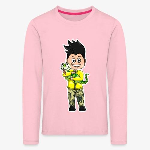 Tomu och ödlan - Långärmad premium-T-shirt barn