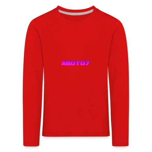 Abot07 - Långärmad premium-T-shirt barn