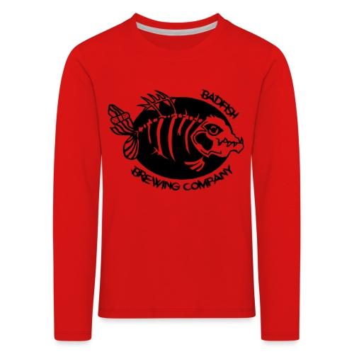 Grand logo devant - T-shirt manches longues Premium Enfant